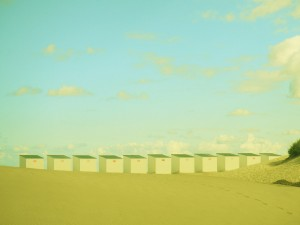 cabines de plage à Malo-les-bains